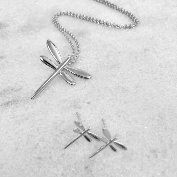 silverslängörhängen