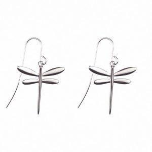 Silverörhängen med sländor
