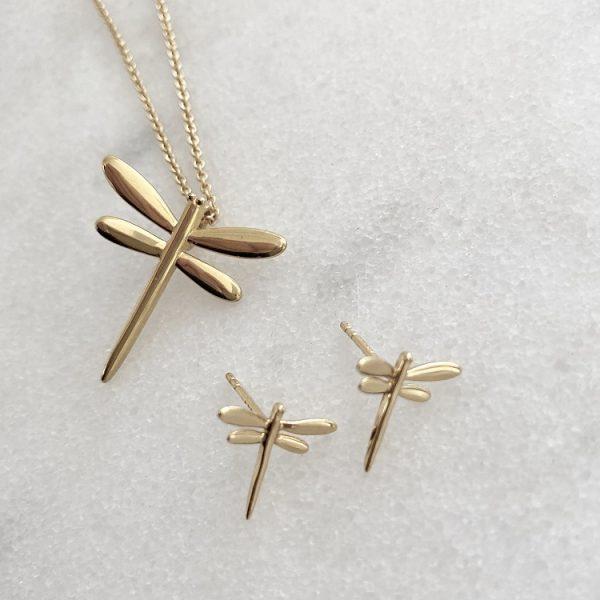 guldsländeörhängen