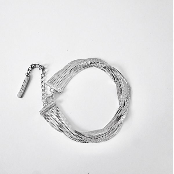 silver armband kedja